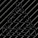 celebration, christmas, nature, present, tree, xmas