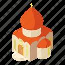 building, church, isometric, logo, object, pastor, western