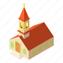 building, church, isometric, logo, muslim, object, pastor