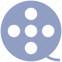 cinema, entertainment, film, movie, reel, roll, spool