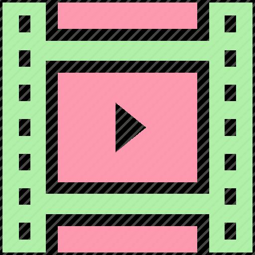 cinema, cinema film reel, film, film reel, movie, movie film reel, video icon