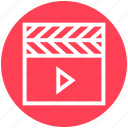 action, cinema, film action, movie, movies, multimedia, video icon