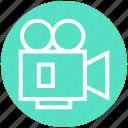 camera, cinema, entertainment, film, movie, video, video camera