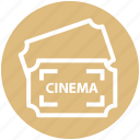 raffle, theater, concert, cinema, movie, cinema ticket, ticket