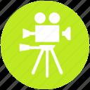 camera, cinema, entertainment, movie, photo studio, video, video camera icon
