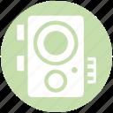 camera, device, electronics, flash, images, photo, photography icon