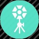 cinema, film, light, movie, movies, spotlight, studio icon