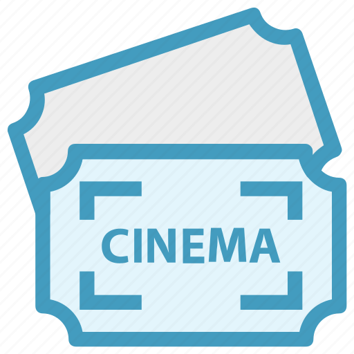 cinema, cinema ticket, concert, movie, raffle, theater, ticket icon