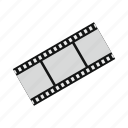 camera, cinema, film, frame, movie, negative, strip icon