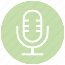 announcer, entertainment, mic, microphone, music, singer, speech icon