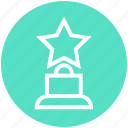 award, cinema, gold, hollywood, nomination, prize, trophy icon