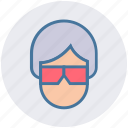 cinema, film, glasses, movie, movie preview, video, watch movie icon