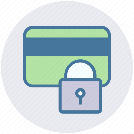 Card, credit, lock, locked, protection, safety, security icon - Download on Iconfinder