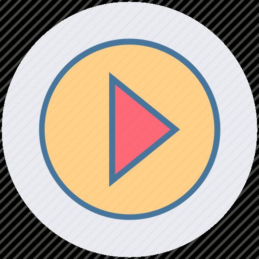 audio, cinema, music, play, player, video icon