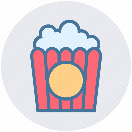 Cinema, corn, film, food, movie, popcorn, snack icon - Download on Iconfinder