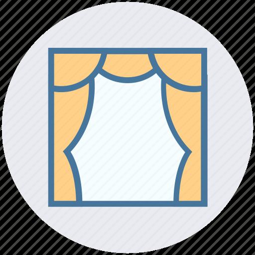 Audience, cinema, cinema hall, movie theater, stage, theater, theater stage icon - Download on Iconfinder