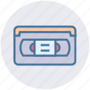 audio, cassette, mp3, multimedia, music, play, vintage icon
