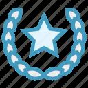 award, cinema, emperor, ribbon, royalty, star icon