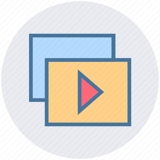 Cinema, entertainment, movie, multimedia, play, player, video icon - Download on Iconfinder