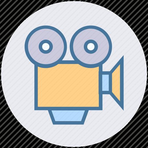 Camera, cinema, entertainment, film, movie, video, video camera icon - Download on Iconfinder
