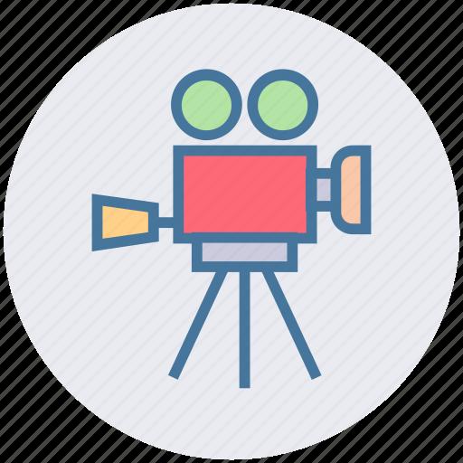 Camera, cinema, entertainment, movie, photo studio, video, video camera icon - Download on Iconfinder