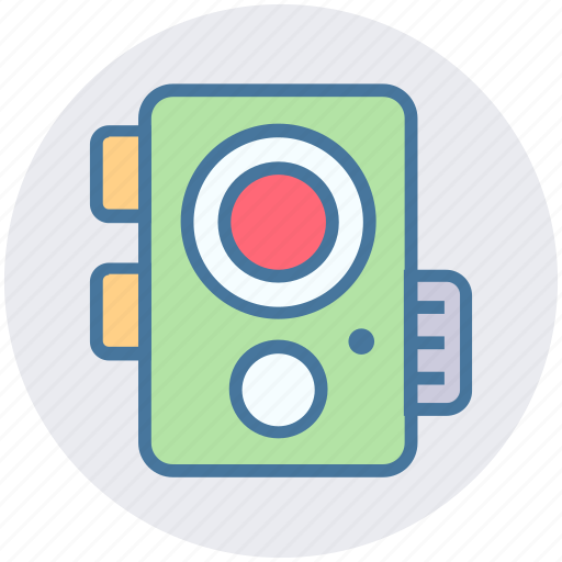 Camera, device, electronics, flash, images, photo, photography icon - Download on Iconfinder