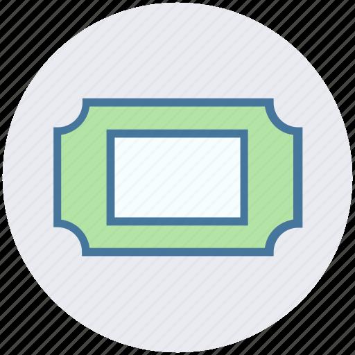 Cinema, cinema ticket, concert, movie, raffle, theater, ticket icon - Download on Iconfinder