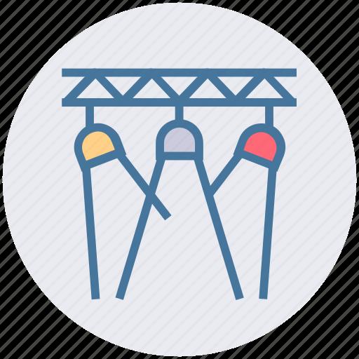 Cinema, film, hall, light, movie, movies, spotlight icon - Download on Iconfinder