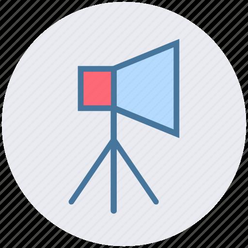 Cinema, film, light, movie, movies, spotlight, studio icon - Download on Iconfinder