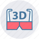 3d, 3d glasses, cinema, entertainment, film, goggles, movie