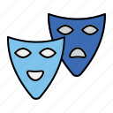 face, mask, roles, theater