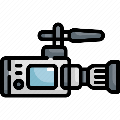 Camera, cinema, entertainment, movie, theater, video icon - Download on Iconfinder