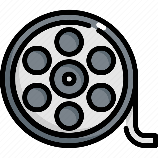 Cinema, entertainment, film, movie, roll, theater icon - Download on Iconfinder