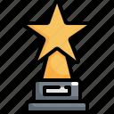 achievement, award, cinema, movie, prize, winner