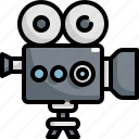 camera, cinema, entertainment, movie, theater