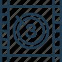 cinema, countdown, film, movie, screen, tv, video icon