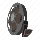 blank, camera, cartoon, cinema, clip, video, videotape icon