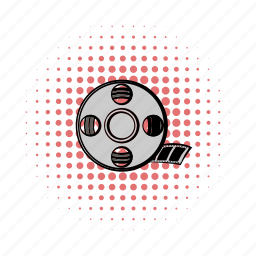 camera, cinema, comics, entertainment, film, movie, reel icon