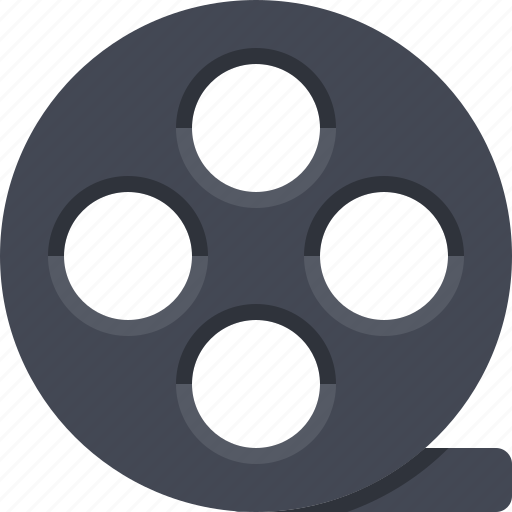entertainment, film, filmroll, filmstrip, multimedia, video icon