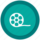 big, film, roll icon