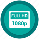 full, full hd, fullscreen, hd, maximize icon