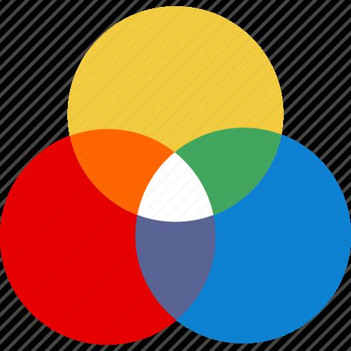 colors, colours, harmony, palette, themes icon
