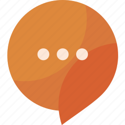 bubble, chat, message, messaging, sms, talk icon