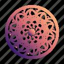 pattern, mandalas, ornaments, floral, doodles, circle, mandala icon