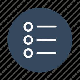 checklist, list, note, notes, task, tasks, todo icon