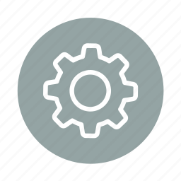cog, configure, control, gear, options, preferences, settings icon