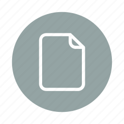 blank, document, empty, file, office, paper, sheet icon