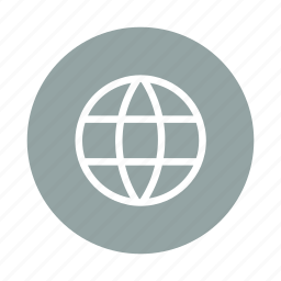 earth, global, globe, internet, web icon