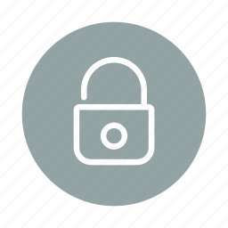 lock, locked, password, protected, safe, safety, secure icon