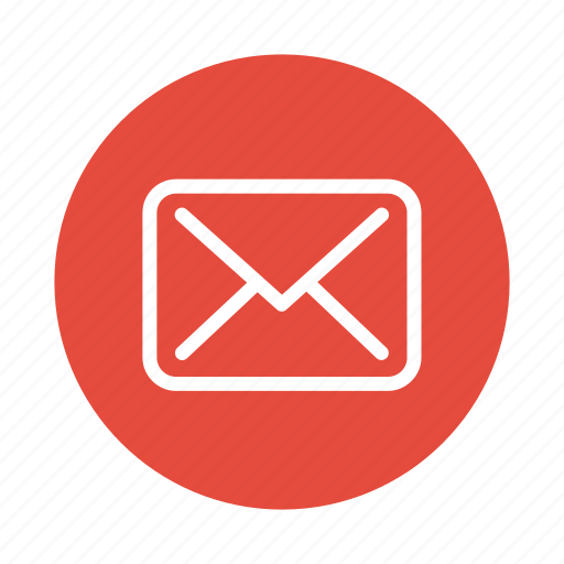 communication, email, envelope, letter, mail, message, send icon